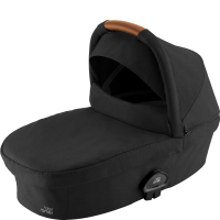 Britax Römer Premium Smile III Kinderwagenaufsatz Space Black, Brown Handle