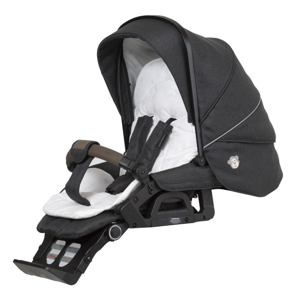 Hartan Racer GTS 438 ape grey Bellybutton Gestellfarbe schwarz Kollektion 2021