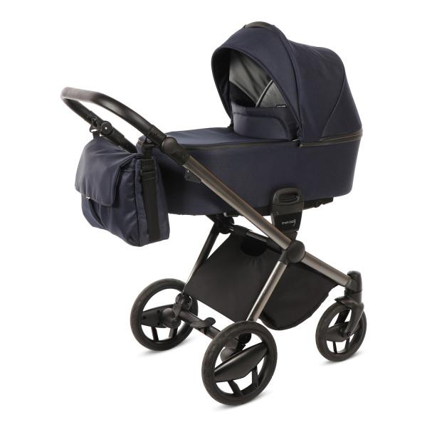 Knorr Baby Kombi-Kinderwagen LIFE+ SET Marine -Solange Vorrat reicht!-