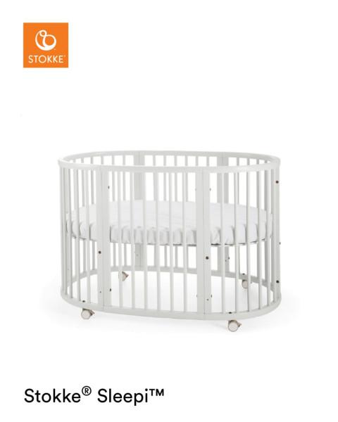 STOKKE® SLEEPI™ Bett White 104205