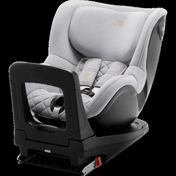 Britax Römer Premium Kindersitz Dualfix M i-Size Kollektion 2021 Nordic Grey