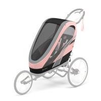 CYBEX Gold Sports ZENO Seat Pack Silver Pink | light pink