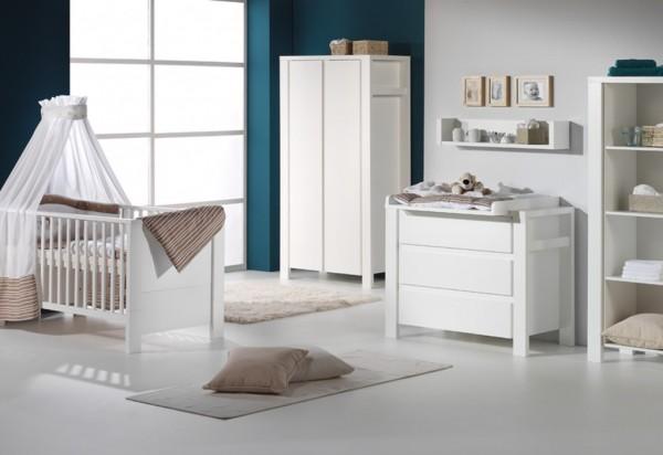 Schardt Milano Weiß Kinderzimmer mit 2-Türigem Schrank GESICHERTER Versand direkt vom Hersteller