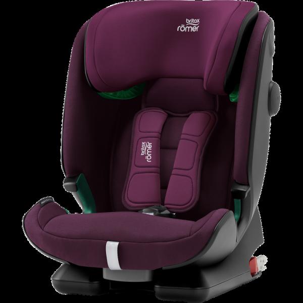 Britax Römer Premium Kindersitz Advansafix I-Size Burgundy Red