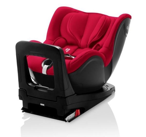 Britax Römer Premium Dualfix i-Size Kollektion 2021 Fire Red