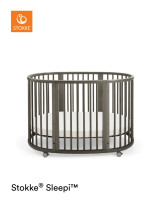 STOKKE® SLEEPI™ Bett Hazy Grey 104207