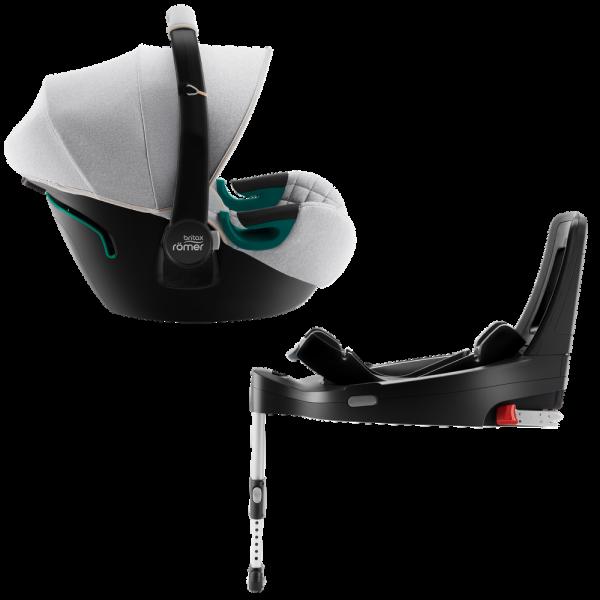 Britax Römer BABY-SAFE 3 i-SIZE Set Nordic Grey