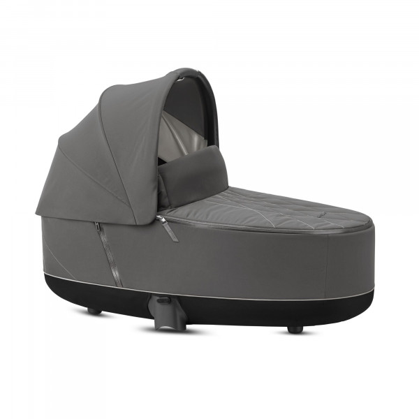 CYBEX Platinum Priam Lux Kinderwagenaufsatz Soho Grey Kollektion 2020