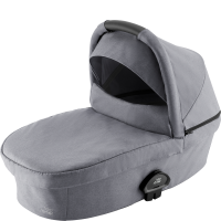 Britax Römer Premium Smile III Kinderwagenaufsatz Frost Grey, Black Handle