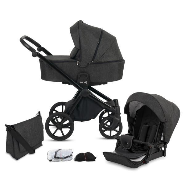 Knorr Baby Kombi-Kinderwagen LIFE+ 2.0 Schiefer Kollektion 2021