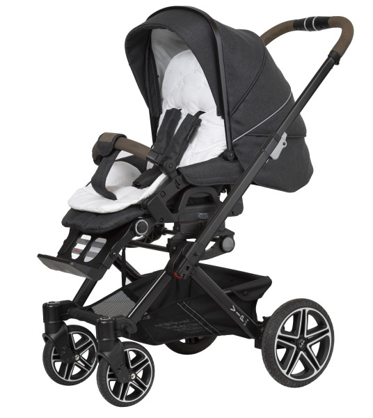 Hartan VIP GTS Bellybutton 438 ape grey Gestellfarbe schwarz Kollektion 2021