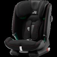 Britax Römer Premium Kindersitz Advansafix I-Size Cool Flow Black
