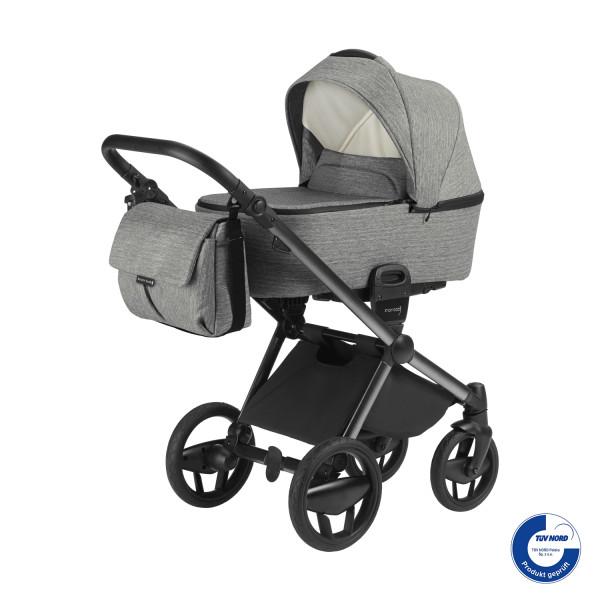 Knorr Baby Kombi-Kinderwagen LIFE+ SET Graphit -Solange Vorrat reicht!-