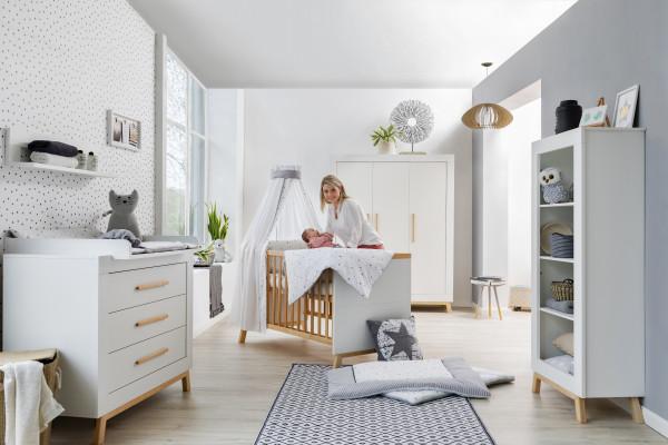 Schardt Kinderzimmer Miami White 3-türig inkl. Umbauseiten