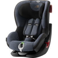 Britax Römer Premium King II LS Black Series Kollektion 2020 Blue Marble