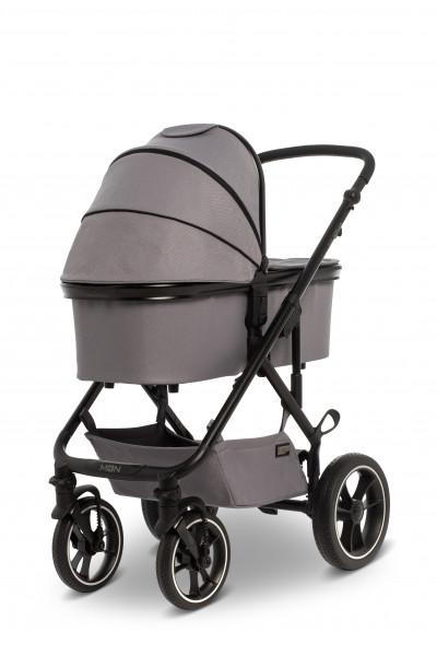 MOON Kombikinderwagen NUOVA stone grey 203 Kollektion 2020