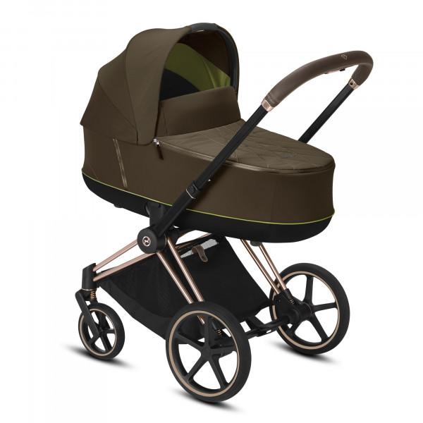 CYBEX Platinum PRIAM Kombikinderwagen Khaki Green / khaki brown Kollektion 2020