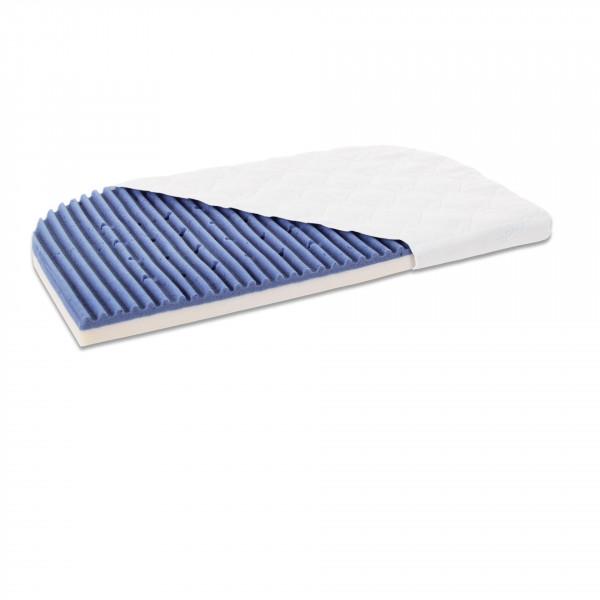 Tobi Babybay Matratze für Maxi / Boxspring / Maxi Advance Medicott Angel Wave, blau