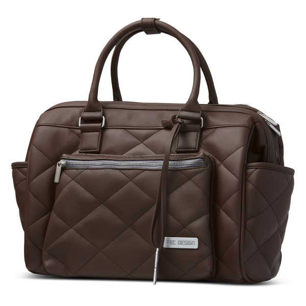 ABC Design Wickeltasche Style Diamond dark brown Kollektion 2021