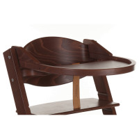 Treppy Ess- und Spielbrett, Playtray Walnut
