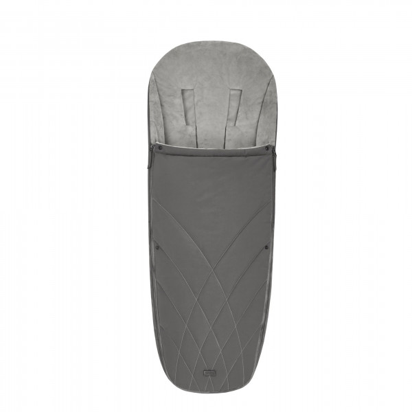 CYBEX Platinum Fußsack Soho Grey Kollektion 2020