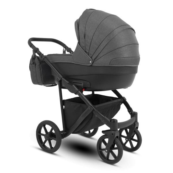 Knorr Baby Kombi-Kinderwagen MADEIRA Grau Kollektion 2021