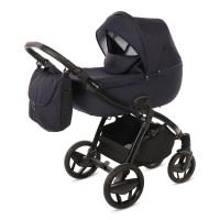 Knorr Baby Kombikinderwagen Piquetto Blau -Solange Vorrat reicht