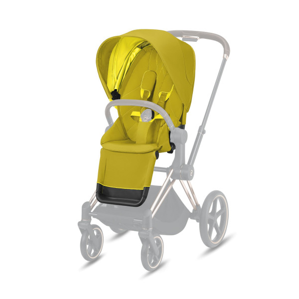 CYBEX Platinum Priam Seat Pack Mustard Yellow Kollektion 2021