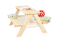 Pinolino Kindersitzgarnitur Nicki für 4, natur