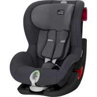 Britax Römer Premium King II LS Black Series Kollektion 2020 Storm Grey