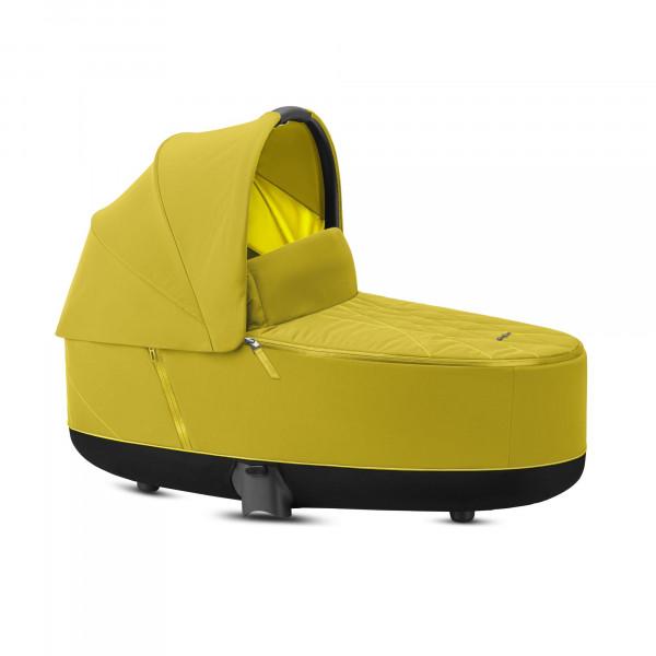 CYBEX Platinum Priam Lux Kinderwagenaufsatz Mustard Yellow Kollektion 2020