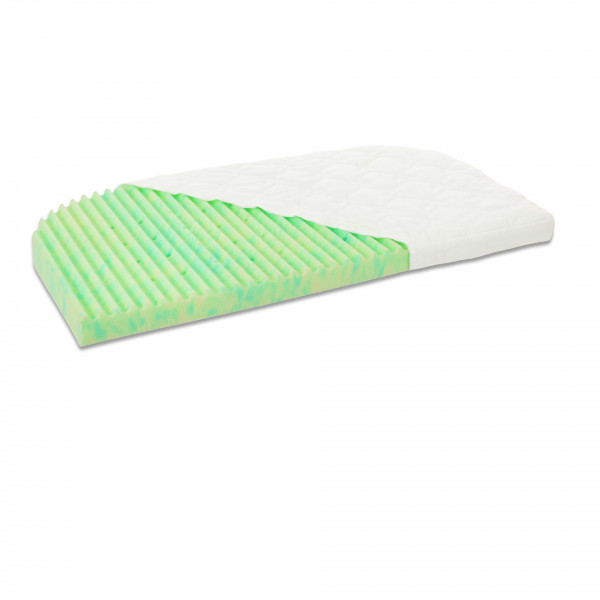 Tobi Babybay Matratze für Original Ultrafresh Wave, grün