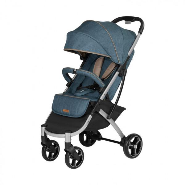 Knorr Baby X-EASY-FOLD Buggy Melange-Jeans-Blau