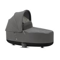 CYBEX Platinum Priam Lux Kinderwagenaufsatz Soho Grey Kollektion 2021