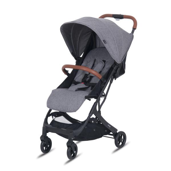 Knorr Baby Buggy B-Easy Fold Grau Gestell Schwarz Kollektion 2020