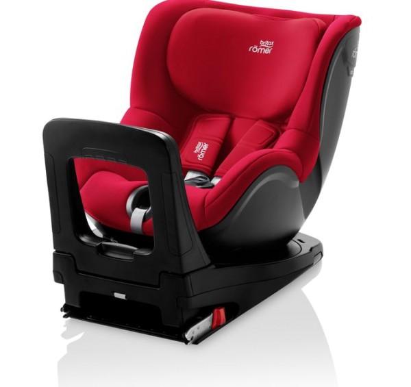 Britax Römer Premium Kindersitz Dualfix M i-Size Kollektion 2021 Fire Red