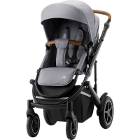 Britax Römer Premium Kinderwagen Smile III Frost Grey, Brown Handl Kollektion 2021