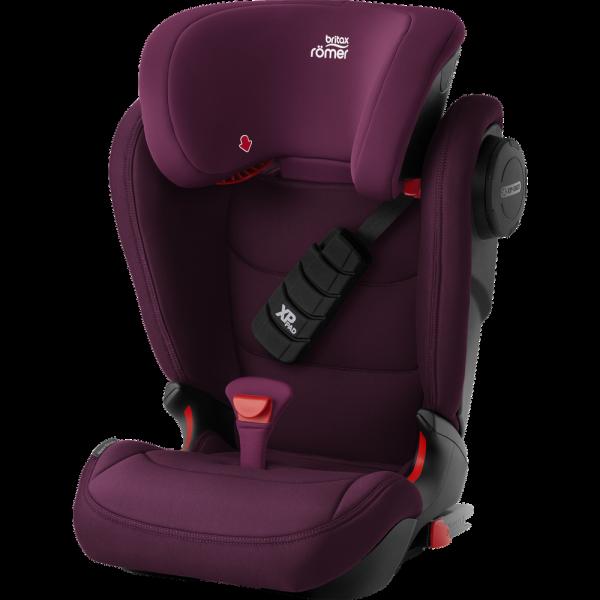Britax Römer Premium Kindersitz Kidfix III S Burgundy Red