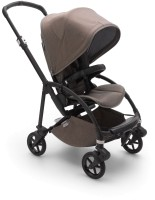 Bugaboo Bee 6 Mineral Buggy Komplett Schwarz - Taupe