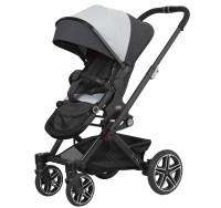 Hartan Kinderwagen Vip GTX 411 new born teddy Gestellfarbe schwarz Kollektion 2021