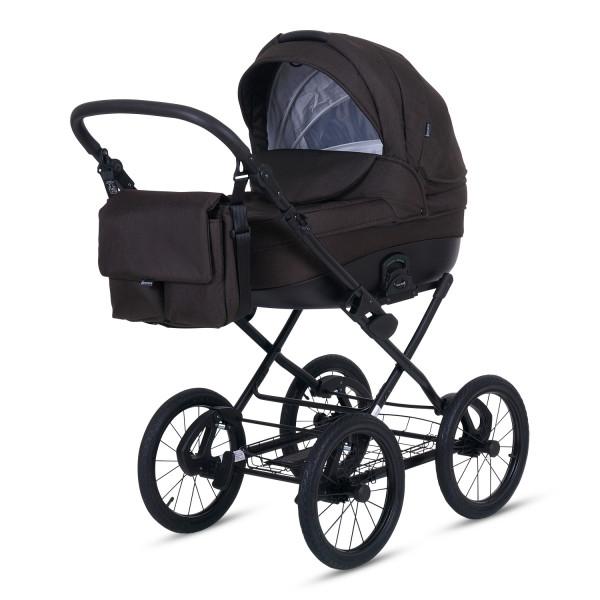 Knorr Baby Kinderwagen ROMA Braun