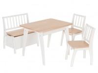 Geuther Sitzgruppe Bambino Weiß / Natur