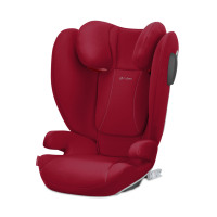 CYBEX Silver SOLUTION B2-FIX+ Lux Dynamic Red   mid red