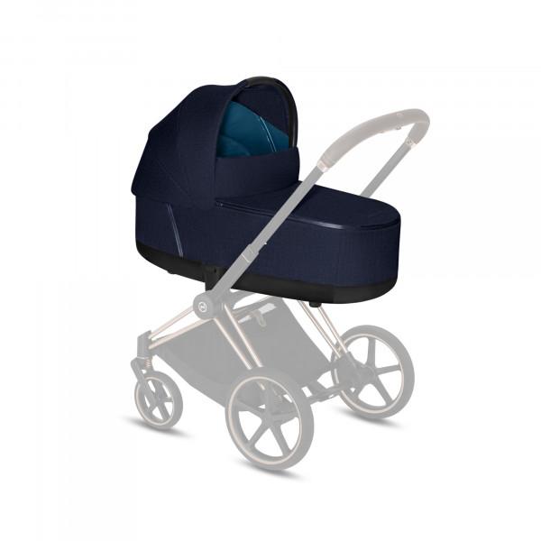CYBEX Platinum Priam Lux Kinderwagenaufsatz Plus Midnight Blue Plus Kollektion 2020