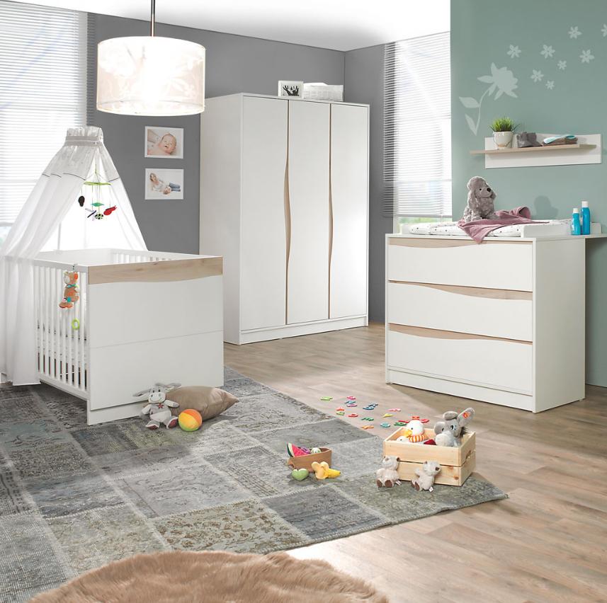 Geuther Kinderzimmer Wave weiß/Buche | Baby ! Fachmarkt für ...