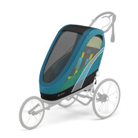 CYBEX Gold Sports ZENO Seat Pack Maliblue | mid turquoise