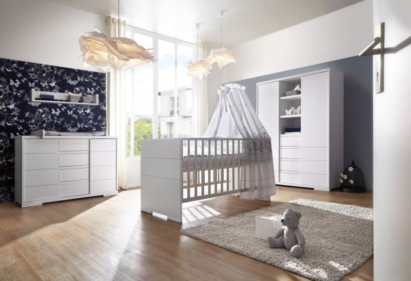 Schardt Kinderzimmer MAXX White inkl. Umbauseiten GESICHERTER Versand direkt vom Hersteller