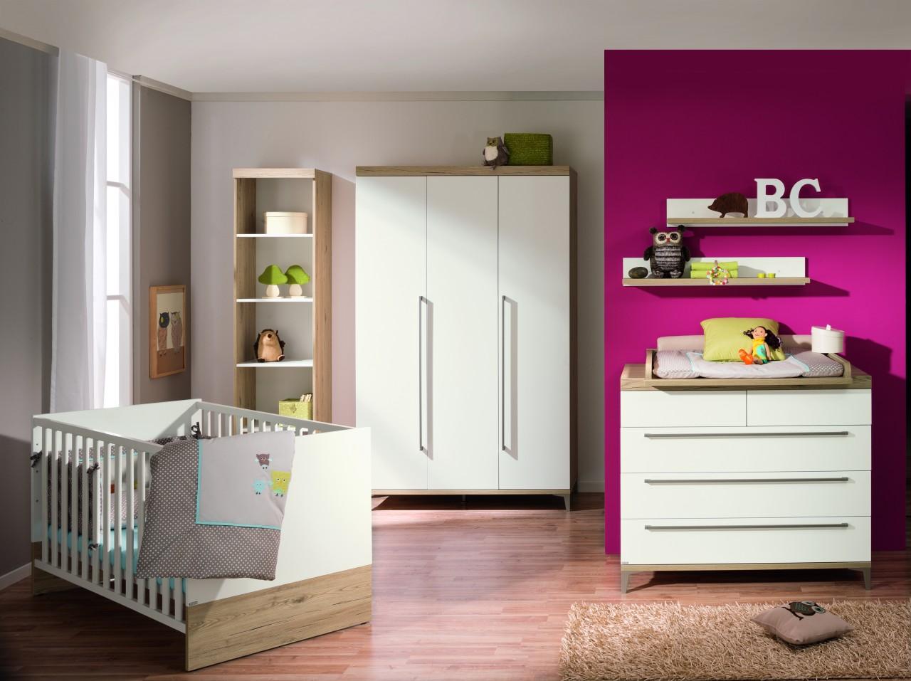 Paidi Kinderzimmer Remo mit 3-Türigem Schrank