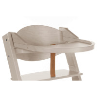 Treppy Ess- und Spielbrett, Playtray Woody White