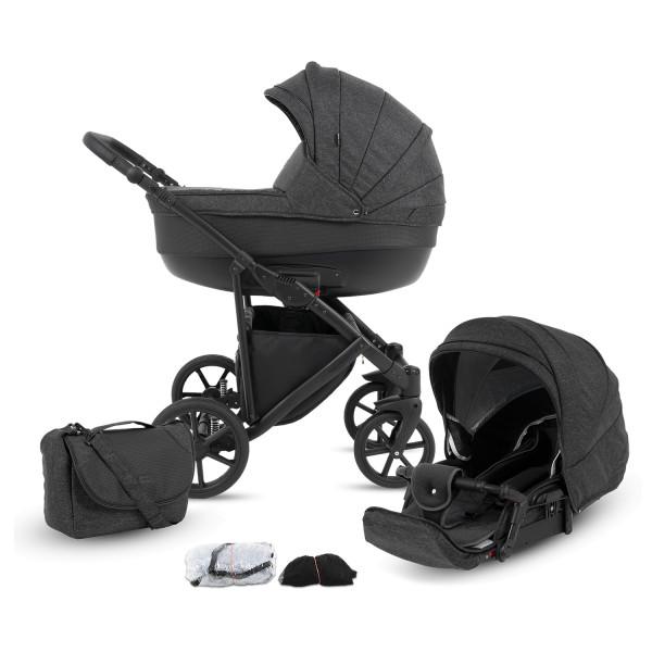 Knorr Baby Kombi-Kinderwagen MADEIRA Schiefer Kollektion 2021